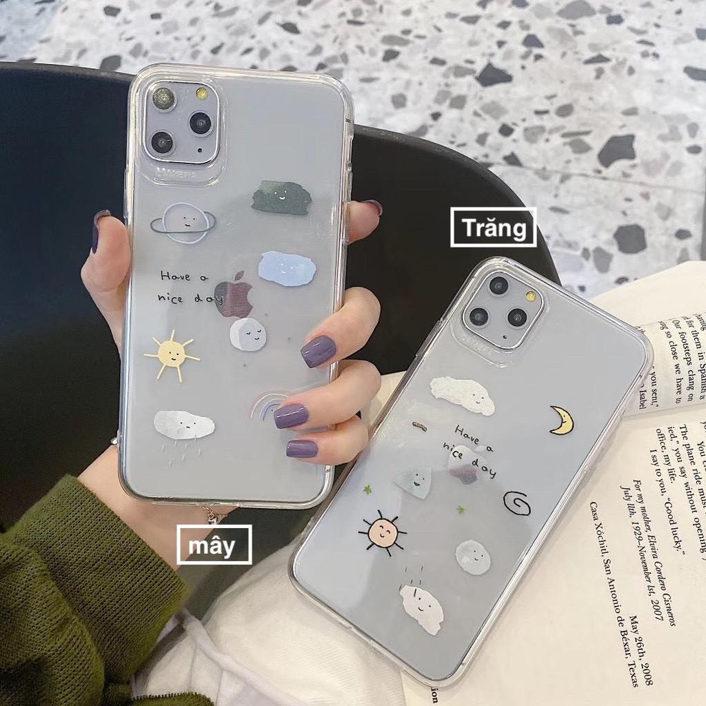 Ốp lưng iphone Trăng Và Mây 6 6S 6Plus 6S Plus 7 8 7Plus 8Plus X XSMax 11 ProMax XR - Xưởng Ốp Việt Nam F4