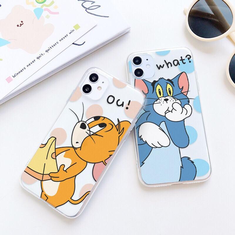 Ốp lưng iphone Chuột Và Mèo 6 6S 6Plus 6S Plus 7 8 7Plus 8Plus X XSMax 11 ProMax XR - Xưởng Ốp Việt Nam M546