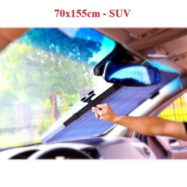 ⚡️FREESHIP 50K - TOÀN QUỐC⚡️Rèm chắn nắng kính lái xe ô tô KT 70x155cm