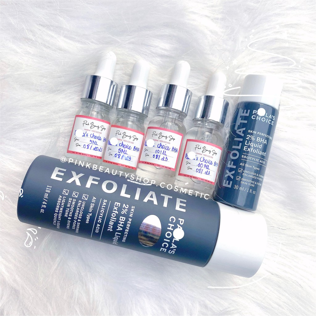 Tẩy Tế Bào Chết Hóa Học 2% BHA Liquid Exfoliant