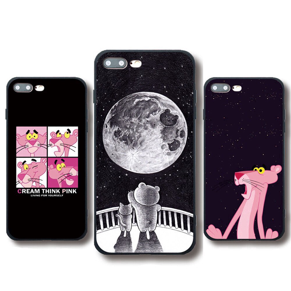 Ốp lưng iphone  Pink 6 6S 6Plus 6S Plus 7 8 7Plus 8Plus X XSMax 11 ProMax XR - Xưởng Ốp Việt Nam M173