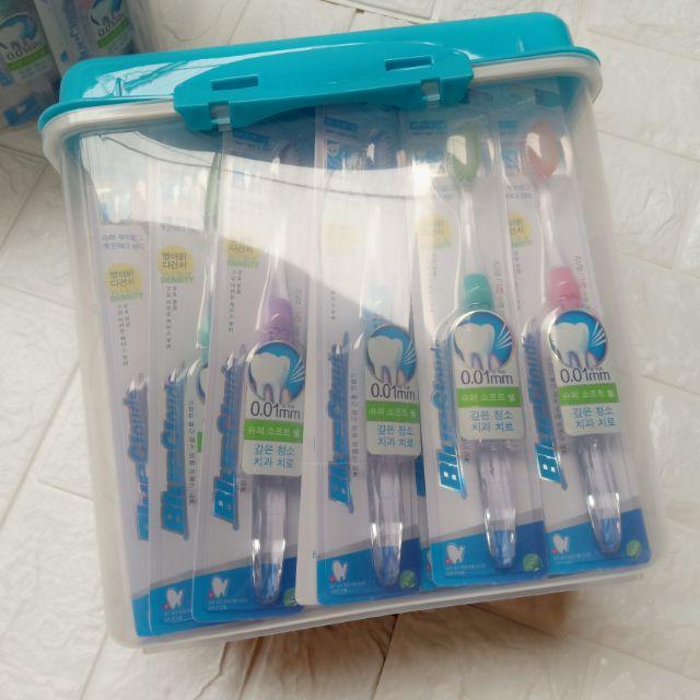 6 hộp bàn chải đánh răng hàn quốc(45c/1 hộp)