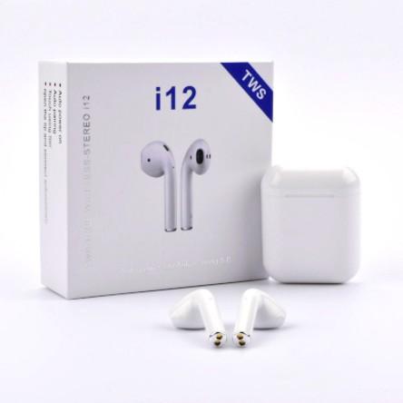 Tai Nghe Bluetooth i12 TWS Kết Nối Không Dây