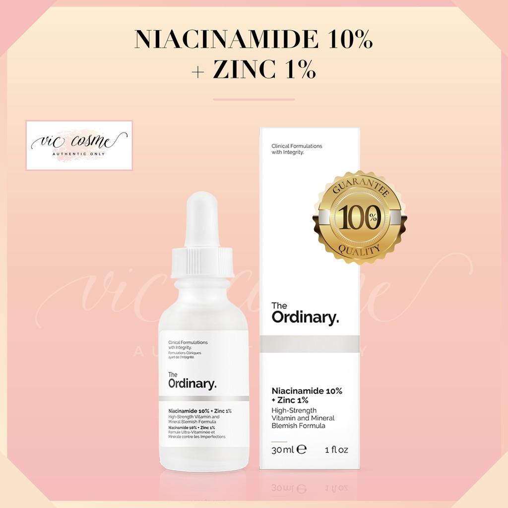 Serum The Ordinary Niaciamide 10% +Zinc1%
